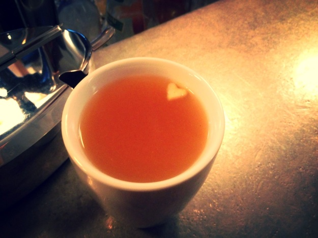 mulled cider with heart